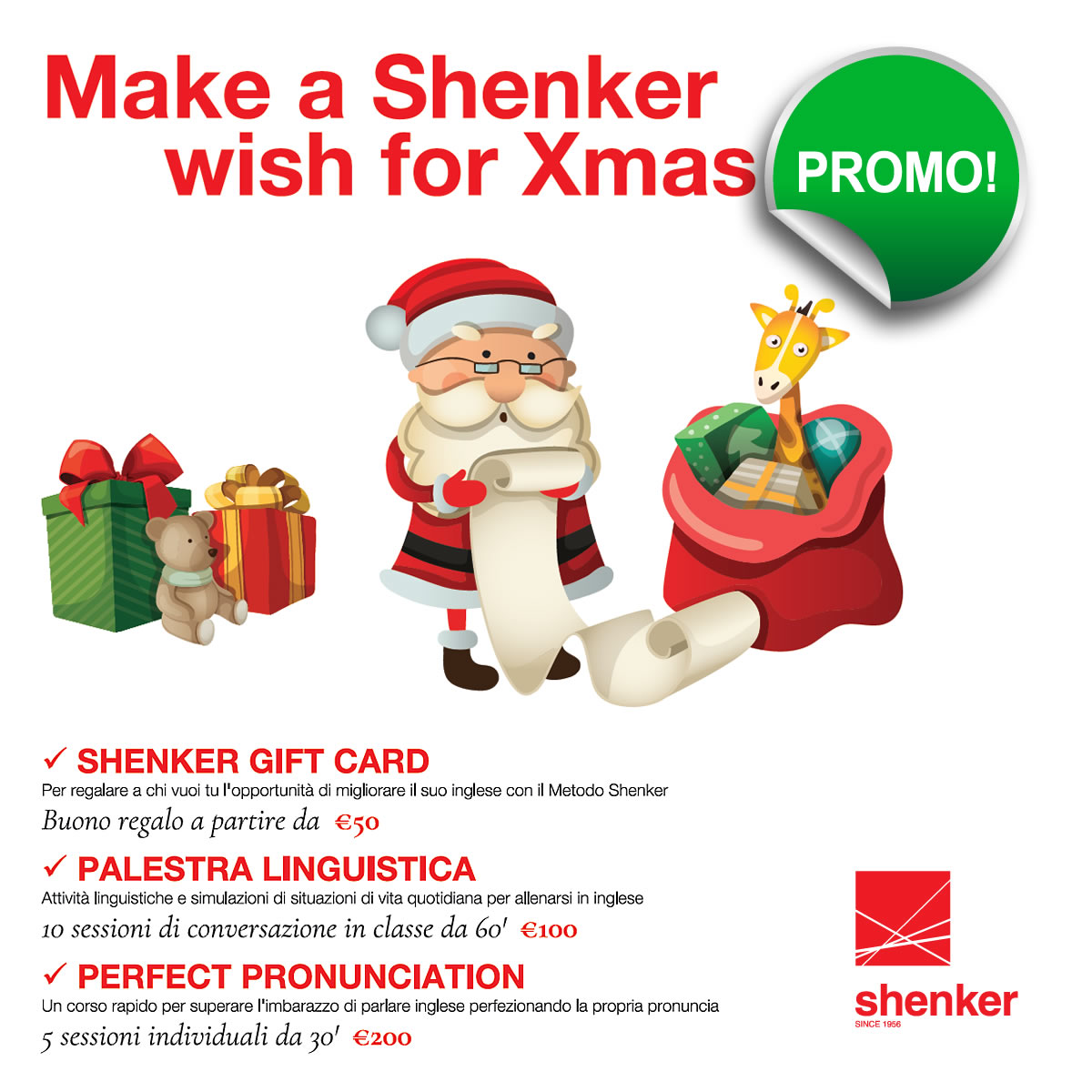 Make a Shenker Wish for Xmas