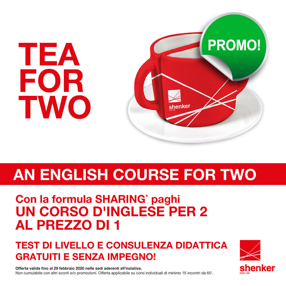 A SHENKER ENGLISH COURSE FOR TWO